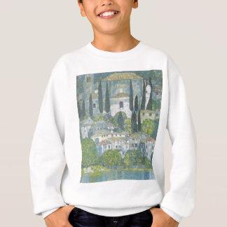 Gustav Klimt - Church in Cassone Art work Sweatshirt
