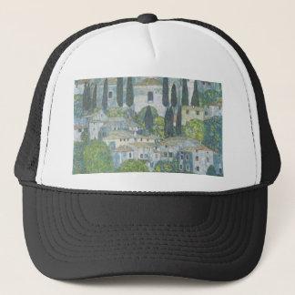 Gustav Klimt - Church in Cassone Art work Trucker Hat