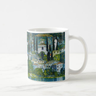 "Gustav Klimt, ""Church in Cassone"" Coffee Mug"