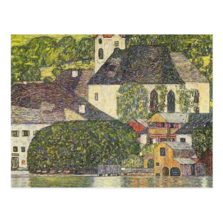 Gustav Klimt- Church in Unterach on the Attersee Postcard