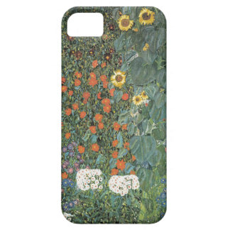 Gustav Klimt - Country Garden Sunflowers Flowers Case For The iPhone 5