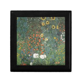 Gustav Klimt - Country Garden Sunflowers Flowers Gift Box