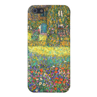 Gustav Klimt: Country House at the Attersee iPhone 5 Cover