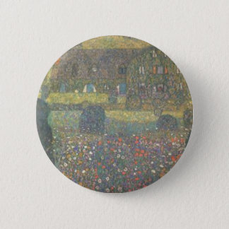 Gustav Klimt - Country House by the Attersee Art 2 Inch Round Button