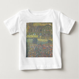 Gustav Klimt - Country House by the Attersee Art Baby T-Shirt