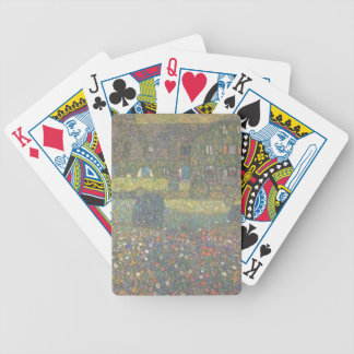 Gustav Klimt - Country House by the Attersee Art Bicycle Playing Cards