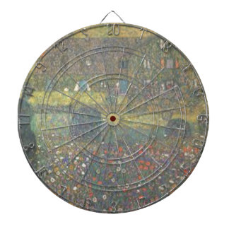 Gustav Klimt - Country House by the Attersee Art Dartboard