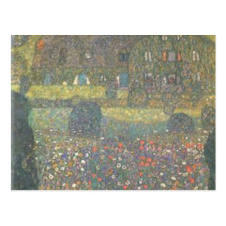Gustav Klimt - Country House by the Attersee Art Postcard