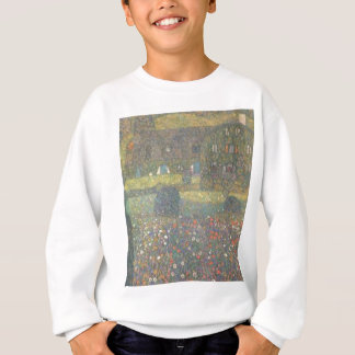 Gustav Klimt - Country House by the Attersee Art Sweatshirt