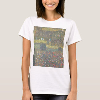 Gustav Klimt - Country House by the Attersee Art T-Shirt
