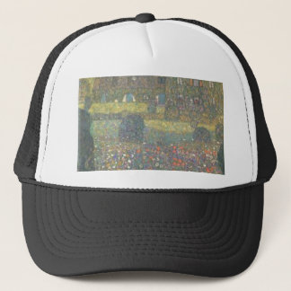 Gustav Klimt - Country House by the Attersee Art Trucker Hat