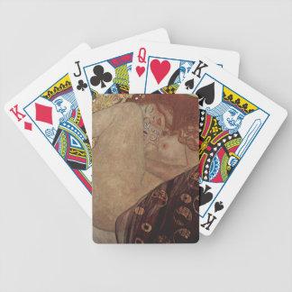 Gustav Klimt  - Danae - Beautiful Artwork Bicycle Playing Cards