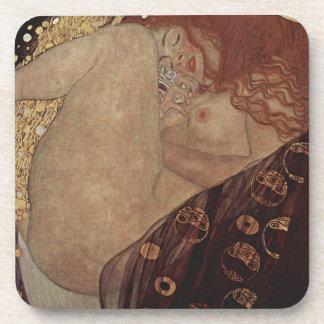 Gustav Klimt  - Danae - Beautiful Artwork Coaster