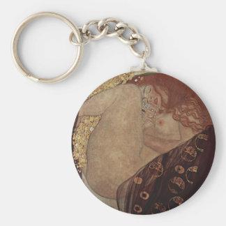 Gustav Klimt  - Danae - Beautiful Artwork Keychain
