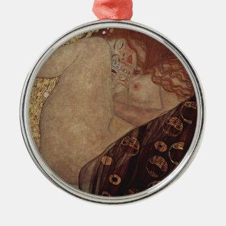 Gustav Klimt  - Danae - Beautiful Artwork Metal Ornament
