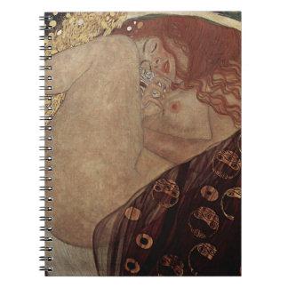 Gustav Klimt  - Danae - Beautiful Artwork Notebooks