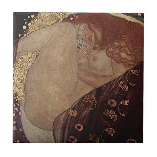 Gustav Klimt  - Danae - Beautiful Artwork Tile
