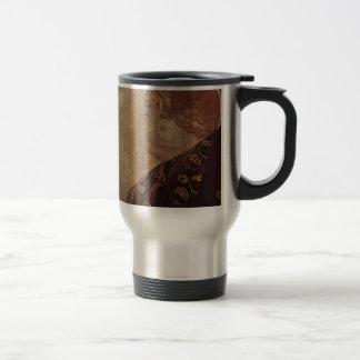 Gustav Klimt  - Danae - Beautiful Artwork Travel Mug