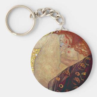 """Gustav Klimt, """"Danae"""" Keychain"""