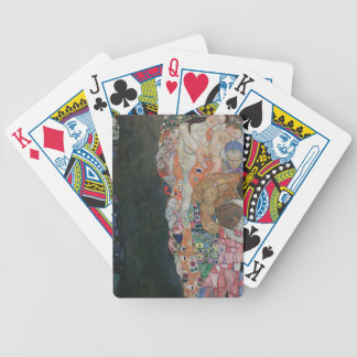 Gustav Klimt - Death and Life Art Work Bicycle Playing Cards
