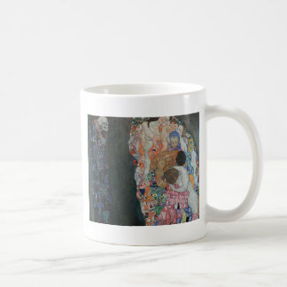 Gustav Klimt - Death and Life Art Work Coffee Mug
