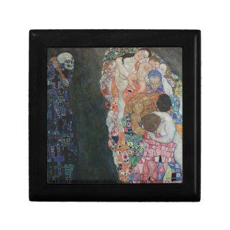 Gustav Klimt - Death and Life Art Work Gift Box