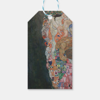 Gustav Klimt - Death and Life Art Work Gift Tags