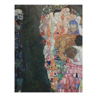 Gustav Klimt - Death and Life Art Work Letterhead