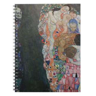Gustav Klimt - Death and Life Art Work Notebooks