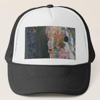 Gustav Klimt - Death and Life Art Work Trucker Hat