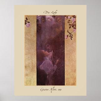 Gustav Klimt Die Liebe (The Love)1895 Poster Print