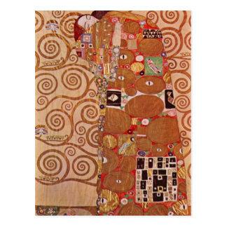 Gustav Klimt - Embrace Postcard