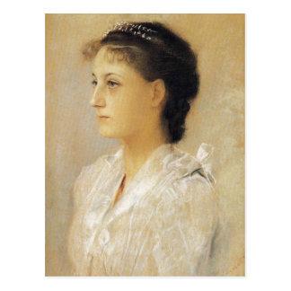 Gustav Klimt Emilie Floge Postcard