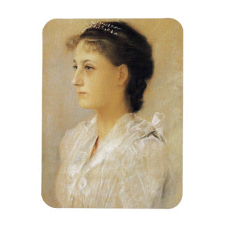 Gustav Klimt Emilie Floge Rectangular Photo Magnet