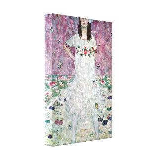 Gustav Klimt - Eugenia Primavesi Canvas Print