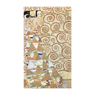 Gustav Klimt Expectation Canvas Print