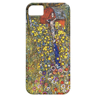 Gustav Klimt  Farm Garden with Crucifix iPhone 5 Covers