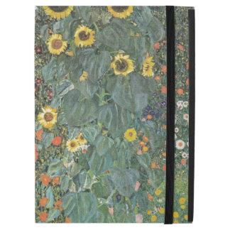 "Gustav Klimt Farm Garden with Sunflowers GalleryHD iPad Pro 12.9"" Case"
