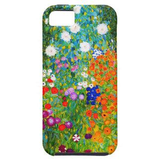 """Gustav Klimt, """"Farmhouse garden"""" Case For The iPhone 5"""
