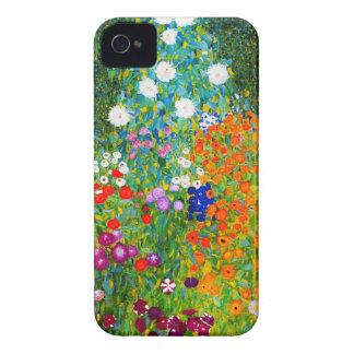 """Gustav Klimt, """"Farmhouse garden"""" iPhone 4 Case-Mate Cases"""