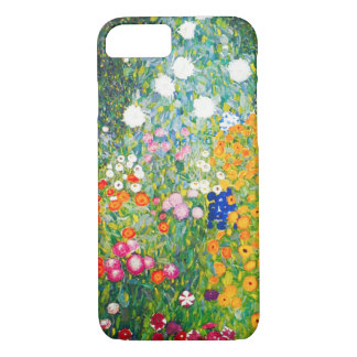 Gustav Klimt Flower Garden iPhone 7 case