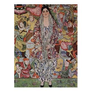 Gustav Klimt - Fredericke Maria Beer Art Postcard