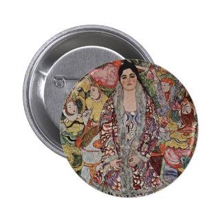 Gustav Klimt Fredericke Maria Beer Button