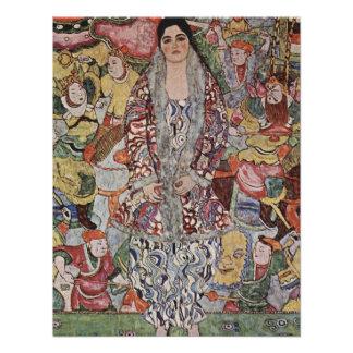 Gustav Klimt Fredericke Maria Beer Invitations