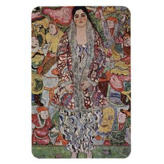 Gustav Klimt Fredericke Maria Beer Magnet