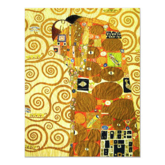 Gustav Klimt Fulfillment Invitations