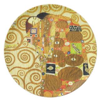 Gustav Klimt Fulfillment Plate