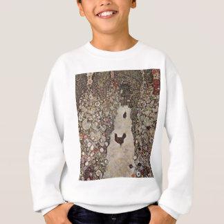 Gustav Klimt - Garden with Roosters Sweatshirt