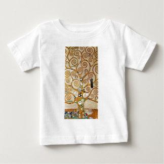 Gustav Klimt Golden Tree of Life with Bird Baby T-Shirt