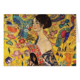 Gustav Klimt Greetings Card
